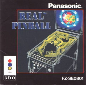 Real Pinball (Jewel Case) - 3DO (Pre-owned)