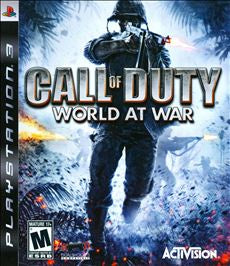 Call of Duty World at War - PS3 (Pre-owned)