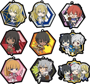 SWORD ORATORIA Is It Wrong to Try to Pick Up Girls in a Dungeon? On the Side Genco Rubber Strap Collection with lucky item (1 Random Blind Box)