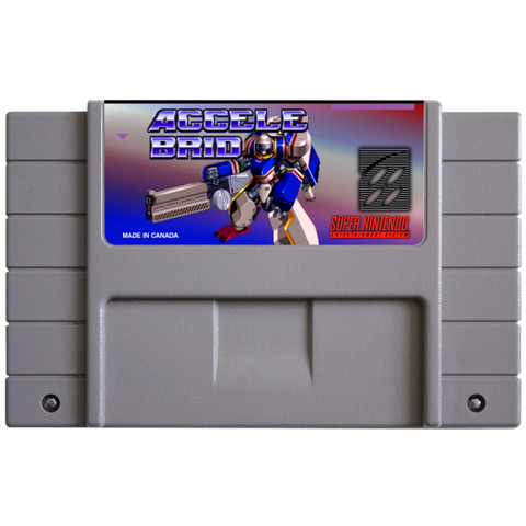Accele Brid (Reproduction) - SNES (Pre-owned)