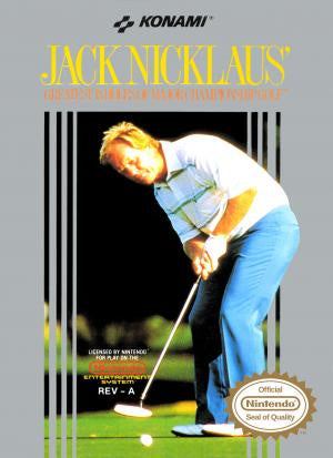 Jack Nicklaus Golf - NES (Pre-owned)