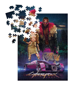 Cyberpunk 2077 Neokitsch Puzzle (1000 Pieces) [Dark Horse Comics]