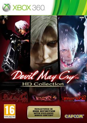 Devil May Cry HD Collection - Xbox 360 (Pre-owned)