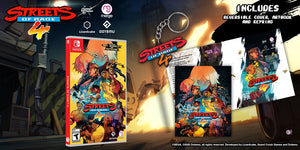Streets of Rage 4 (Launch Edition with Keyring & Artbook) - Switch