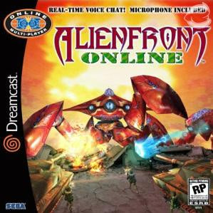 Alien Front Online (Microphone Bundle) - Dreamcast