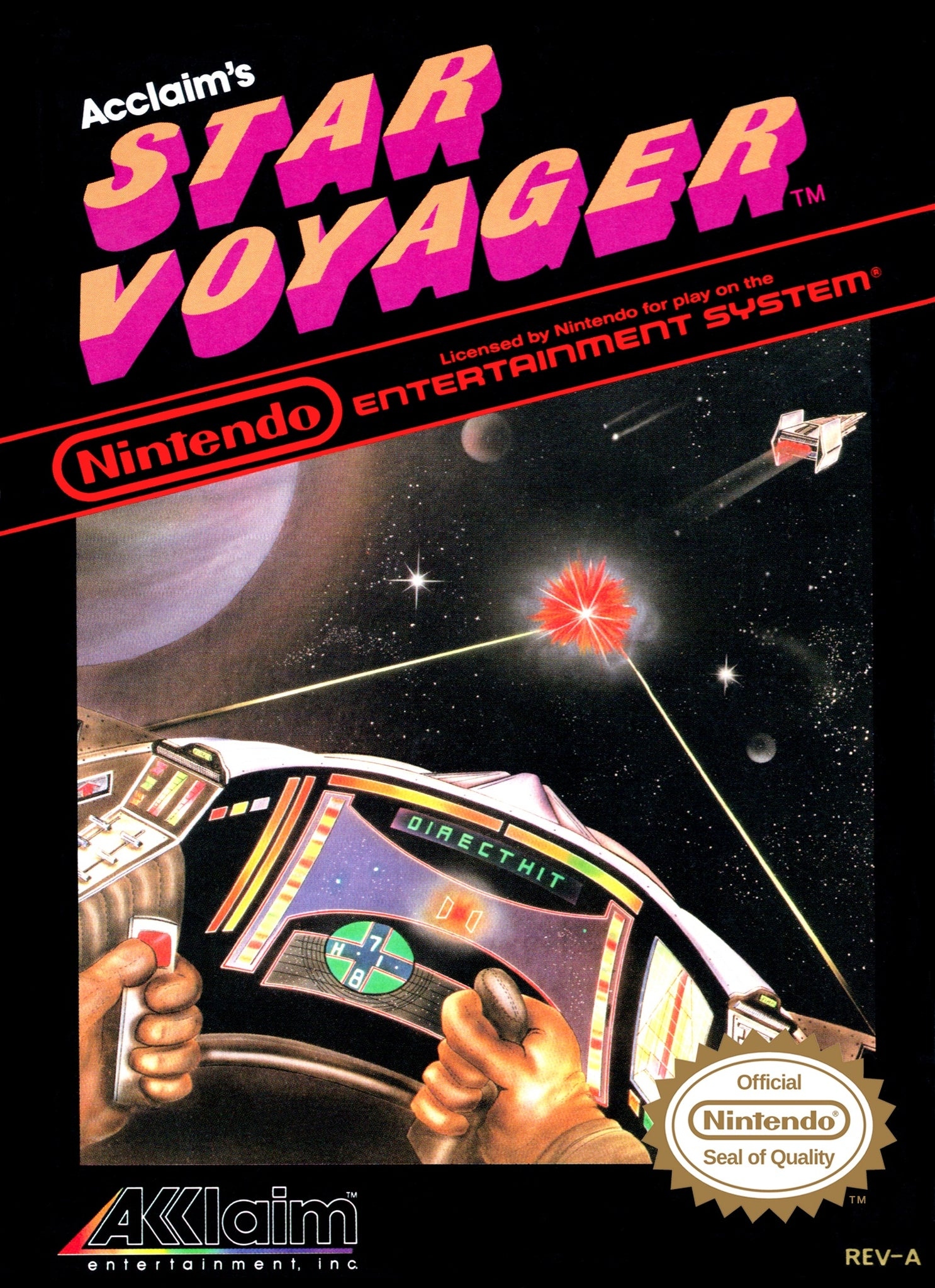Star Voyager - NES (Pre-owned)
