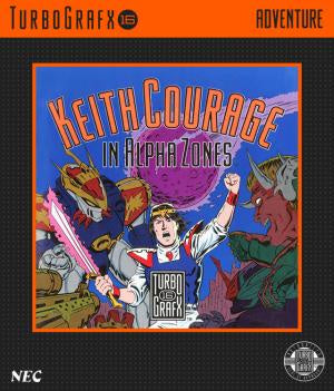 Keith Courage in Alpha Zones - TurboGrafx-16 (Pre-owned)