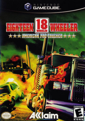 18 Wheeler American Pro Trucker - Gamecube (Pre-owned)