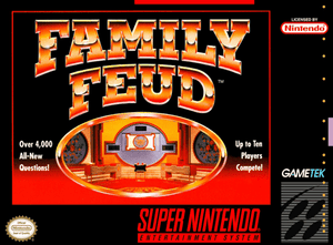Family Feud - SNES (Pre-owned)