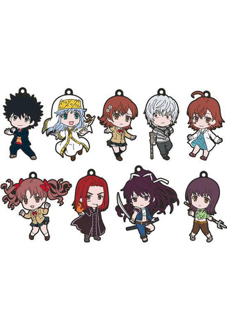 A Certain Magical Index III Good Smile Company Nendoroid Plus Collectible Keychains (1 Random Blind Box)