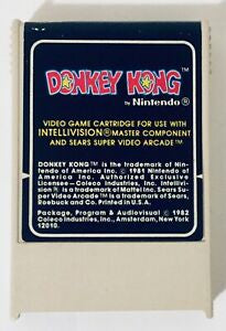 Donkey Kong (White Cartridge) - Intellivision (Pre-owned)
