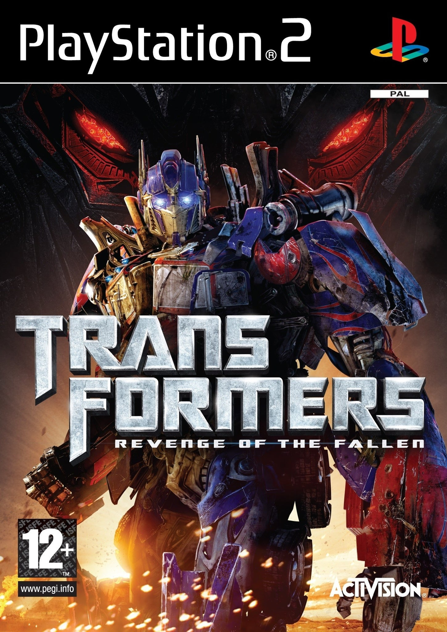Transformers: Revenge of the Fallen - PS2 (Pre-owned)