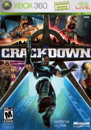 Crackdown - Xbox 360 (Pre-owned)