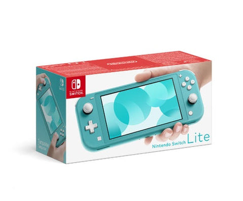 Nintendo Switch Lite Turquoise System Console Portable Handheld (One Per Customer, Available for Pick Up Only)