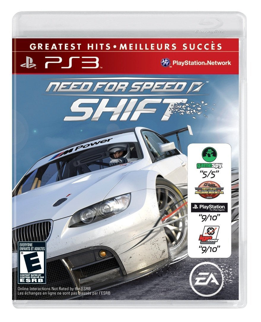 Need for Speed Shift - PS3 (Pre-owned)