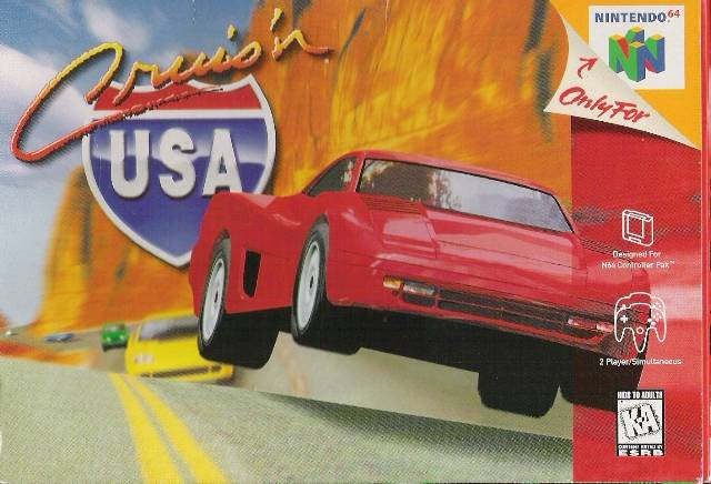 Cruis'n USA - N64 (Pre-owned)