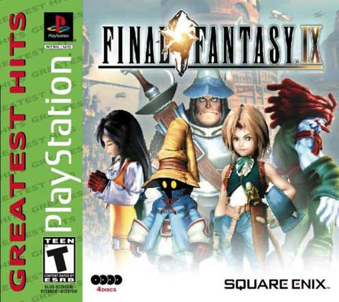 (GH) Final Fantasy IX - PS1 (Pre-owned)