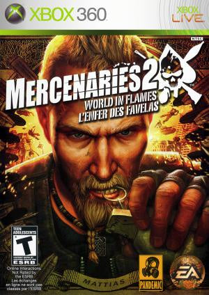 Mercenaries 2 World in Flames - Xbox 360 (Pre-owned)