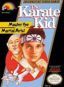 The Karate Kid - NES (Pre-owned)