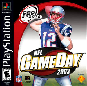 NFL GameDay 2003 - PS1 (Pre-owned)