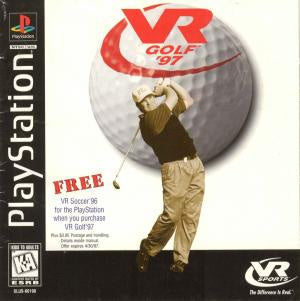 VR Golf 97 - PS1 (Pre-owned)