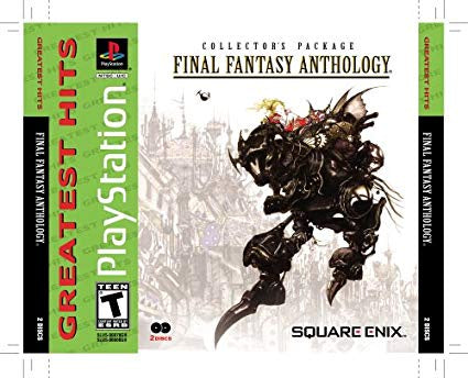 (GH) Final Fantasy Anthology - PS1 (Pre-owned)