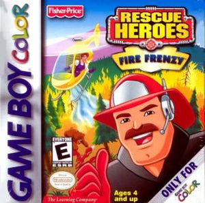 Rescue Heroes: Fire Frenzy - GBC (Pre-owned)