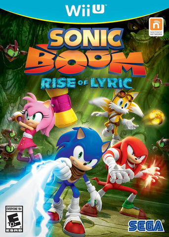 Sonic Boom: Rise of Lyric - Wii U (Pre-owned)