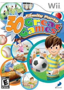 Family Party 30 Great Games - Wii (Pre-owned)
