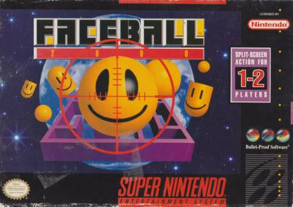 Faceball 2000 - SNES (Pre-owned)