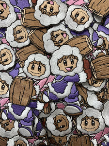 Ice Climbers Custom Embroidered Iron-On/Sew-On Patch, Patches