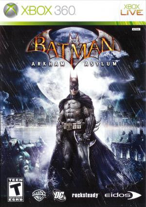 Batman: Arkham Asylum - Xbox 360 (Pre-owned)