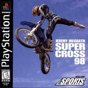 Jeremy McGrath Supercross 98 - PS1 (Pre-owned)