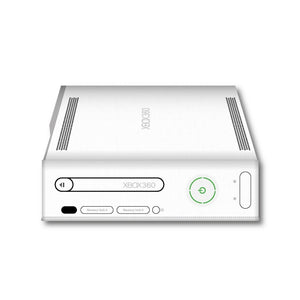 Xbox 360 Core Console Dust Cover - Vinyl (White/Horizontal)