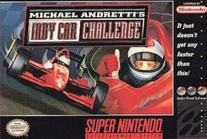 Michael Andretti's Indy Car Challenge - SNES (Pre-owned)