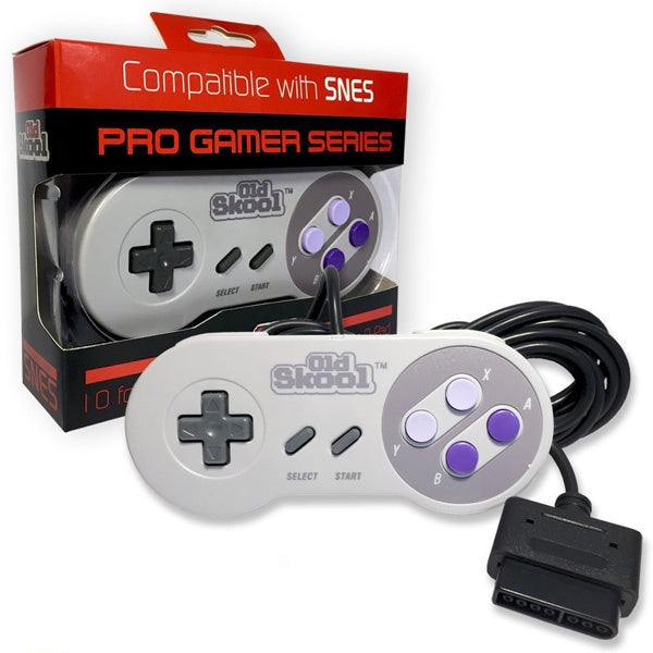 SNES PRO GAMER SERIES CONTROLLER [OLD SKOOL]