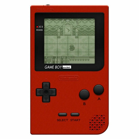 Game Boy Pocket Red MGB-001 System Console