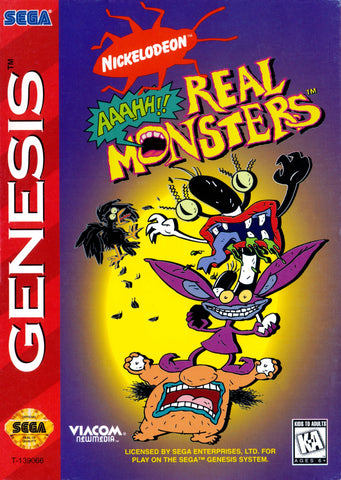 AAAHH Real Monsters - Genesis (Pre-owned)