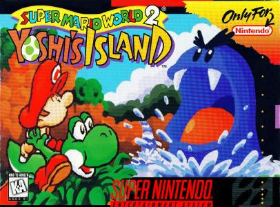 Super Mario World 2 Yoshi's Island - SNES (Pre-owned)