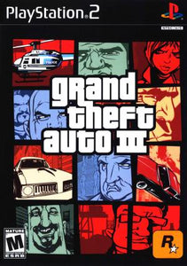 Grand Theft Auto III - PS2 (Pre-owned)