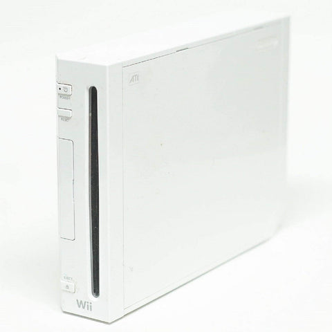 White Nintendo Wii Replacement System Console Only (No controllers, wires, accessories)