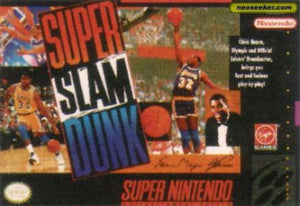 Magic Johnson's Super Slam Dunk - SNES (Pre-owned)