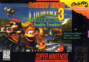 Donkey Kong Country 3: Dixie Kong's Double Trouble - SNES (Pre-owned)