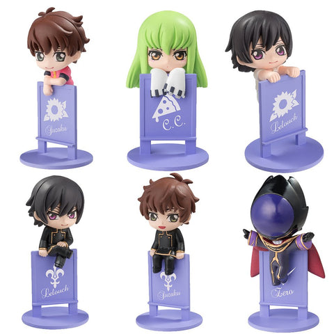 CODE GEASS LELOUCH OF THE REBELLION MEGAHOUSE OCHATOMO SERIES(Repeat)