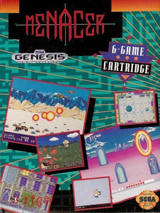Menacer: 6-Game Cartridge - Genesis (Pre-owned)
