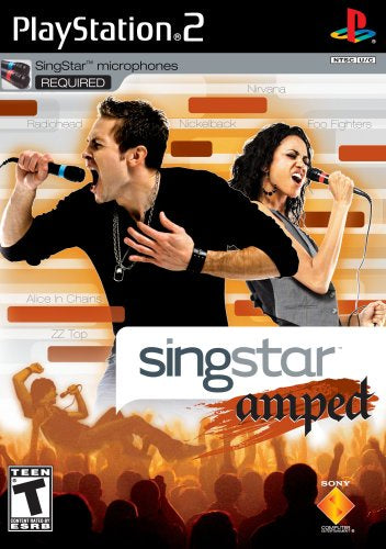 Singstar Amped - PS2 (Pre-owned)