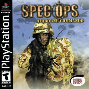 Spec Ops Airborne Commando - PS1 (Pre-owned)