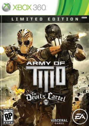 Army of Two: The Devils Cartel - Xbox 360 (Pre-owned)