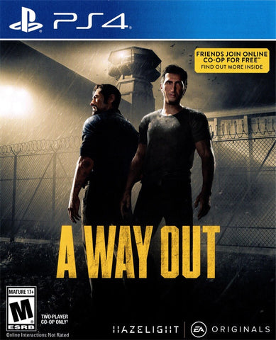 A Way Out - PS4 (Pre-owned)