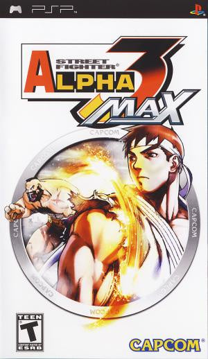 Street Fighter Alpha 3 Max - PSP (Pre-owned)